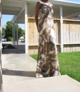 maxi dresses for short people  (21)